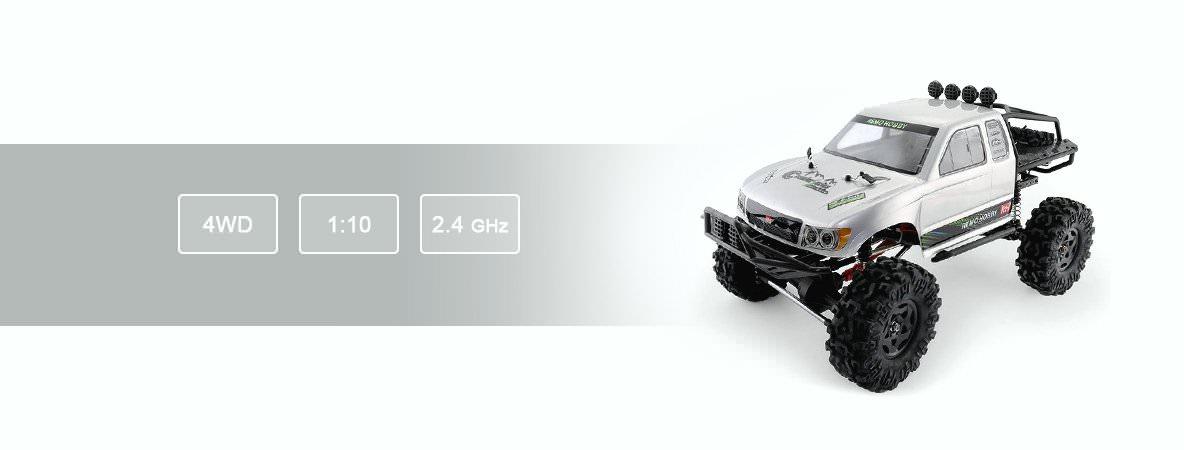Краулер Remo Hobby Trial Rigs Truck 4WD 1:10 2.4G RH1093-ST