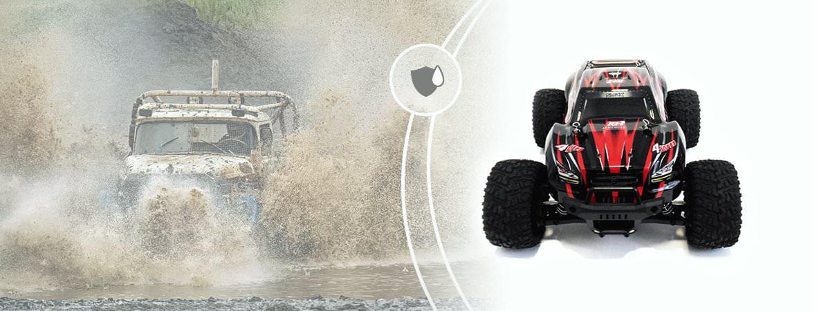 Remo Hobby SMAX 4WD 1:16 RH1631 скорость до 35км/ч