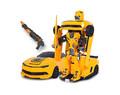 Радиоуправляемый робот-трансформер MZ Chevrolet Camaro 1:14 2.4G MZ-2314K - купить недорого в СПб в интернет-магазине
