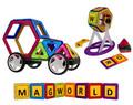 Магнитный конструктор MagWorld 91 деталь - купить недорого в СПб в интернет-магазине
