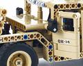 Радиоуправляемый конструктор военный джип QiHui Technics QH8014 502 детали - купить недорого в Санкт-Петербурге в интернет-магазине
