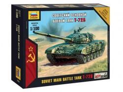 Модель сборная ZVEZDA Советский боевой танк Т-72Б, 1:100