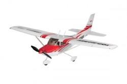 Радиоуправляемый самолет Top RC Cessna 182 400 Class Красный
