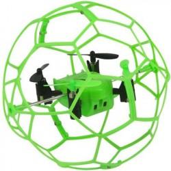 Радиоуправляемый квадрокоптер Helimax Green SkyWalker в сетке - HM1340-GREEN