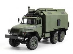 Радиоуправляемая военная машина WPL УРАЛ (зеленый) 6WD B-36KM 1:16 KIT