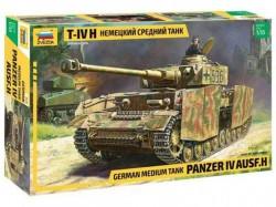 Модель сборная ZVEZDA Немецкий средний танк T-IV , 1/35