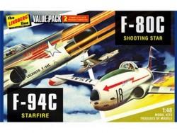 Модель Склеиваемая Hawk Lindberg 1/48 2 pack US Korean War Fight
