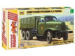 Модель сборная ZVEZDA Грузовик ЗИС-151 , подарочный набор, 1:35