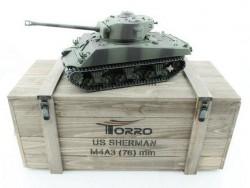 Радиоуправляемый танк Torro Sherman M4A3 76mm, 1/16 2.4G