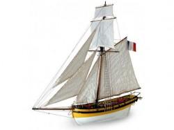 Сборная модель из дерева корабля Artesania Latina LE RENARD 2012, 1/50