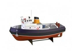 """Собранная модель корабля из дерева Artesania Latina Tugboat """"SAMSON"""", 1/15"""