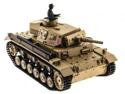Радиоуправляемый танк Heng Long Panzer III type H Upg 1:16 - 3849-1Upg V6.0