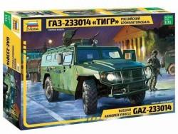 Модель сборная ZVEZDA Российский бронеавтомобиль ГАЗ ТИГР , 1:35