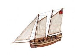 Сборная модель из дерева шлюпки корабля Artesania Latina ENDEAVOUR, 1/50