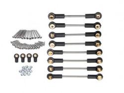 Комплект металлических рычагов c крепежом WPL-A916