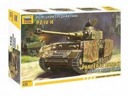 Модель Сборная ZVEZDA Немецкий средний танк PZ IV-H, 1:72