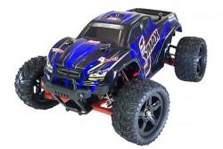 Радиоуправляемый монстр Remo Hobby SMAX Brushless UPGRADE 4WD 2.4G 1/16 RTR RH1635UPG синяя