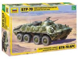 Модель Сборная ZVEZDA Бронетранспортер БТР-70 (Афганская война 1979-1989), 1:35