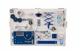 Бизиборд планшет большой синий (60*40 см)