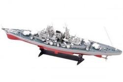Радиоуправляемый корабль Heng Tai линкор Ямато 2.4G 1/250