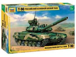 Модель сборная ZVEZDA Российский основной боевой танк Т-90, 1:35