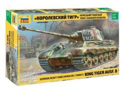 Модель сборная ZVEZDA Немецкий танк T-VIB «Королевский Тигр», 1:35