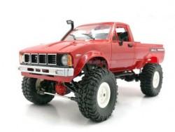 Радиоуправляемая машина-пикап WPL C-24KM-RED Hilux (красная) 4WD 1:16 KIT