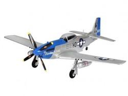 Радиоуправляемый самолет Top RC P-51D синий 750мм 2.4G 4-ch LiPo RTF Top018C