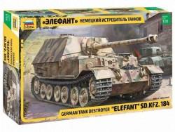 Модель сборная ZVEZDA Истребитель танков Elefant, 1:35
