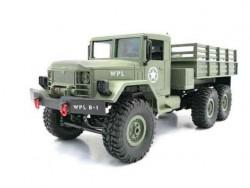 Радиоуправляемый военный грузовик WPL B-16KM-G 6WD 1:16 KIT