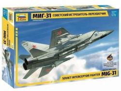 Модель Сборная ZVEZDA Советский истребитель МИГ-31, 1:72