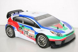 Модель раллийного автомобиля Himoto Rally X10BL 1:10 2.4G - HI4118BL(41002)