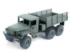 Радиоуправляемая машина американский военный грузовик MN MODEL 6WD 1:16 MN-77C