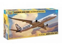 Модель сборная ZVEZDA Пассажирский лайнер Аэробус А-350 1000, 1:144