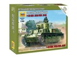 Модель Сборная ZVEZDA Советский легкий танк Т-28, 1:100