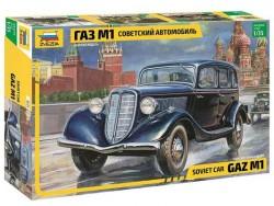 Модель Сборная ZVEZDA Советский автомобиль ГАЗ М1, 1:35
