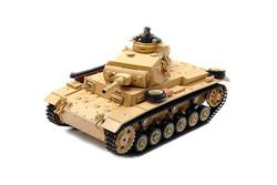 Радиоуправляемый танк Heng Long Tauch Panzer III Ausf H 1:16 3849-1