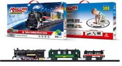 Железная дорога конструктором Fenfa RailCar - 1608-1A