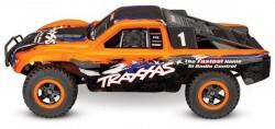 Радиоуправляемый шорт-корс трак Traxxas Slash 4x4 VXL TSM 1:10 - TRA68086-4-OR