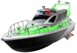 Радиоуправляемый полицейский катер 1:20 Heng Tai - HT-2875B-GREEN