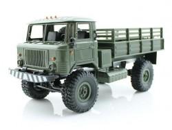 Радиоуправляемая грузовая машина WPL ГАЗ-66 B-24KM-G (зеленая) 4WD 1:16 KIT