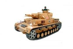 Радиоуправляемый танк Heng Long DAK Panzerkampfwagen IV Ausf F-1 Pro 1:16 - 3858-1Pro V6.0