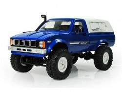 Радиоуправляемая машина пикап WPL Hilux C-24KM-BLUE (синяя) 4WD 1:16 KIT