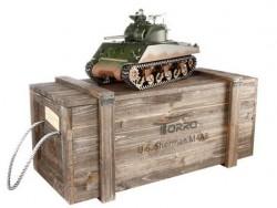 Радиоуправляемый танк Torro Sherman M4A3, ИК-пушка 1/16 2.4G