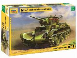 Модель Сборная ZVEZDA Советский лёгкий танк БТ-7, 1:35