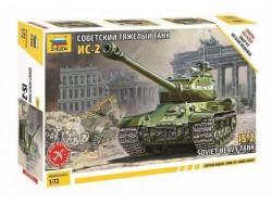Модель Сборная ZVEZDA Советский танк ИС-2 (сборка без клея), 1:72