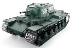 Радиоуправляемый танк Heng Long Russia КВ-1 масштаб 1:16 RTR 2.4G - 3878-1Upg V6.0
