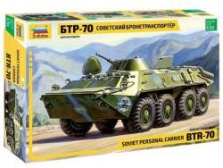 Модель Сборная ZVEZDA Советский бронетранспортер БТР-70, 1:35