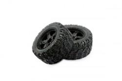 Колеса для Remo Hobby MMAX, EX3 1/10, черные. P1953