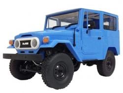 Радиоуправляемая машина внедорожник WPL FJ40 (голубая) C-34-B 4WD 1:16 RTR